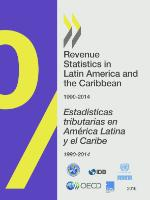 Revenue Statistics in Latin America and the Caribbean 2016